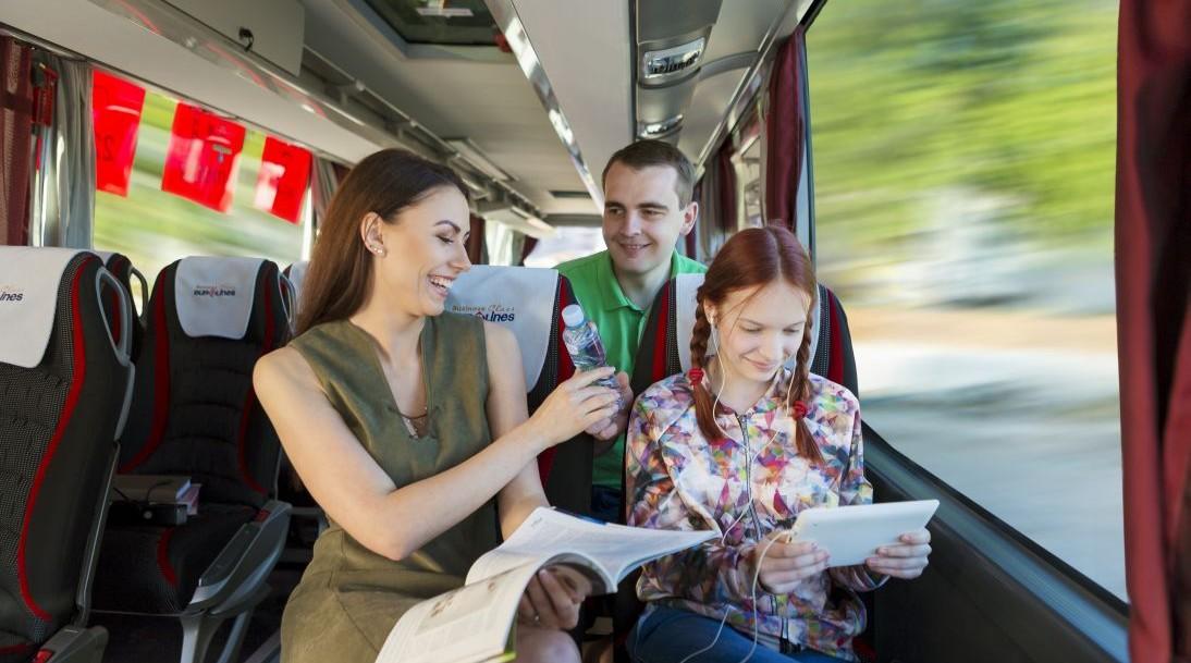 Ką valgyti keliaujant autobusu?