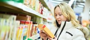 Informacija maisto produktų etiketėse
