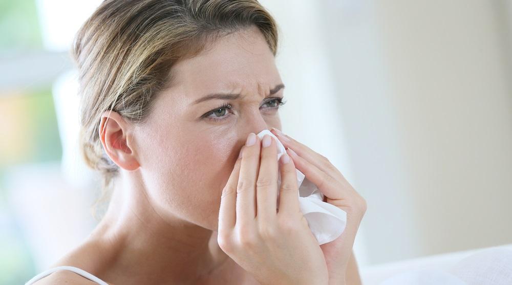 Alerginė sloga dėl sauso oro